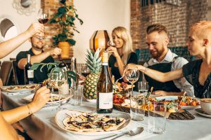 wegańskie dania, podpłomyki, włoskie tapasy, desery, włoska kuchnia - restauracja pół na pół